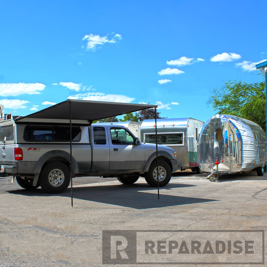Nomadic Awning on Ford Ranger (Deployed)