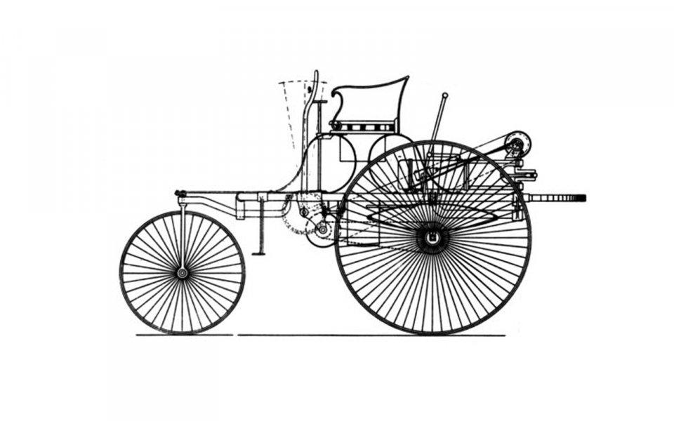 projeto do primeiro carro do mundo