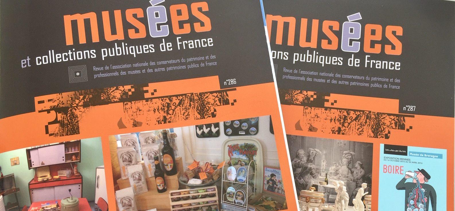 Couverture Revue Musées et collections publiques de France