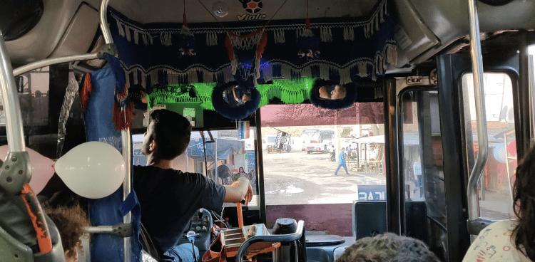 Línea 101A back to Asunción Mercado 4