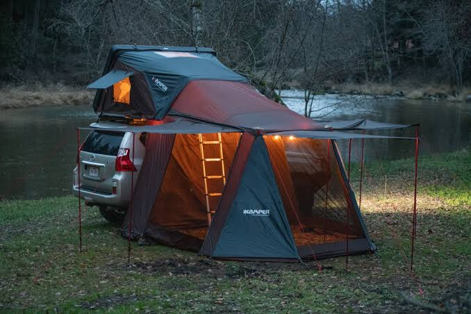 Night camping gadget