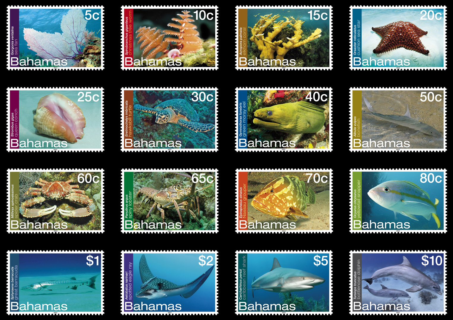 Post office releases new stamps that depicts Bahamas