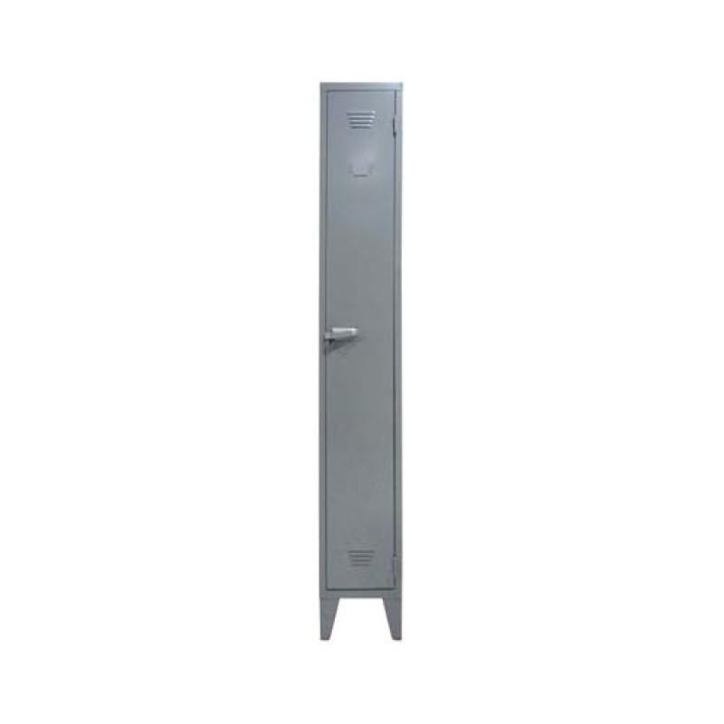 vestiaire industrie salissante 1 porte dimensions 1980 x 400 x 500 mm