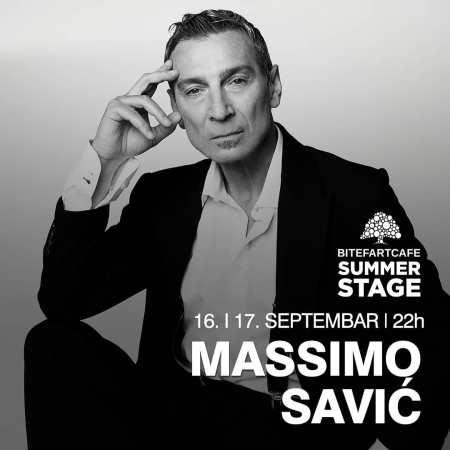 Massimo Koncert Bitefartcafe plakat