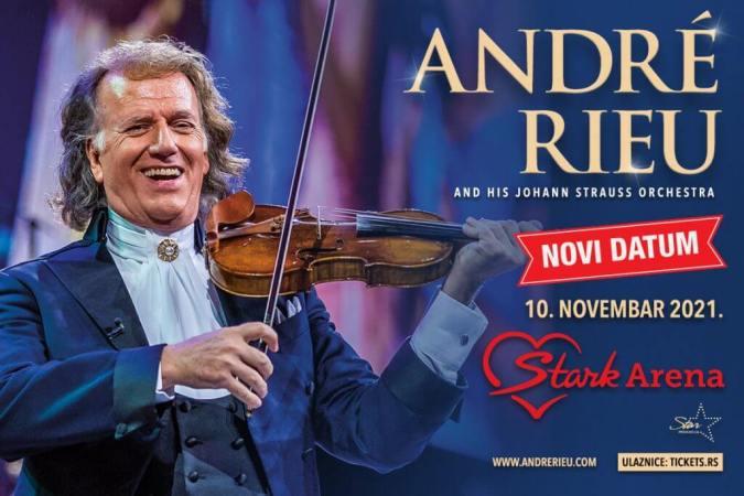 Andre Rieu Koncert Beograd Plakat