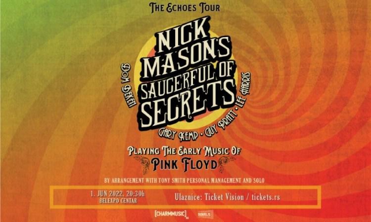Koncert Nick Mason's Saucerful of Secrets Koncerti
