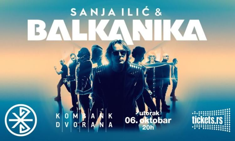 Sanja Ilić Balkanika plakat za koncert