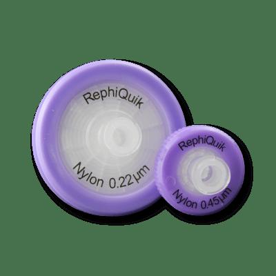 RephiQuik Nylon syringe filter RJN1322NH, RJN3222NH, RJN1345NH, RJN3245N