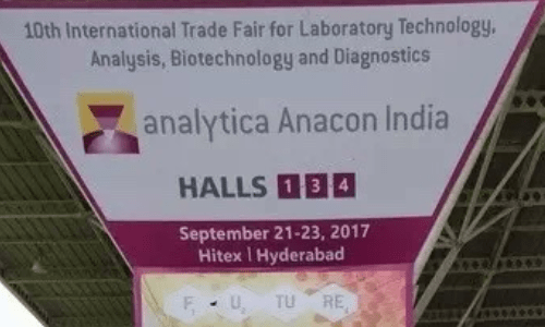 RephiLe's Booth at Analytica Anacon India 2017