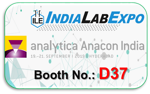 RephiLe Booth and Product at India Lab Expo – Analytica Anacon 2019