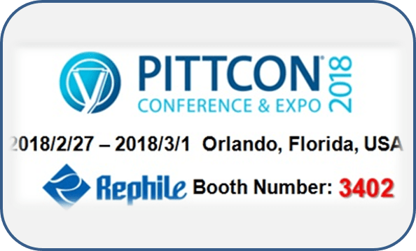 Visit RephiLe at Pittcon 2018