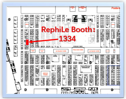 Pittcon 2020 RephiLe Booth