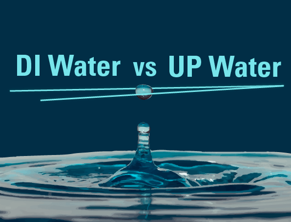 Deionized water vs Ultrapure water