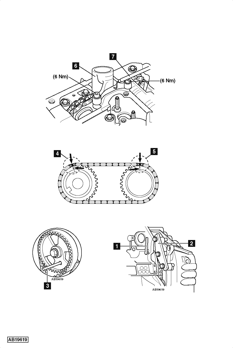 Replace timing chain on Ford C-MAX 2.0 TDCi 2007-2010