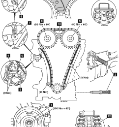 engine timing cover diagram [ 992 x 1478 Pixel ]