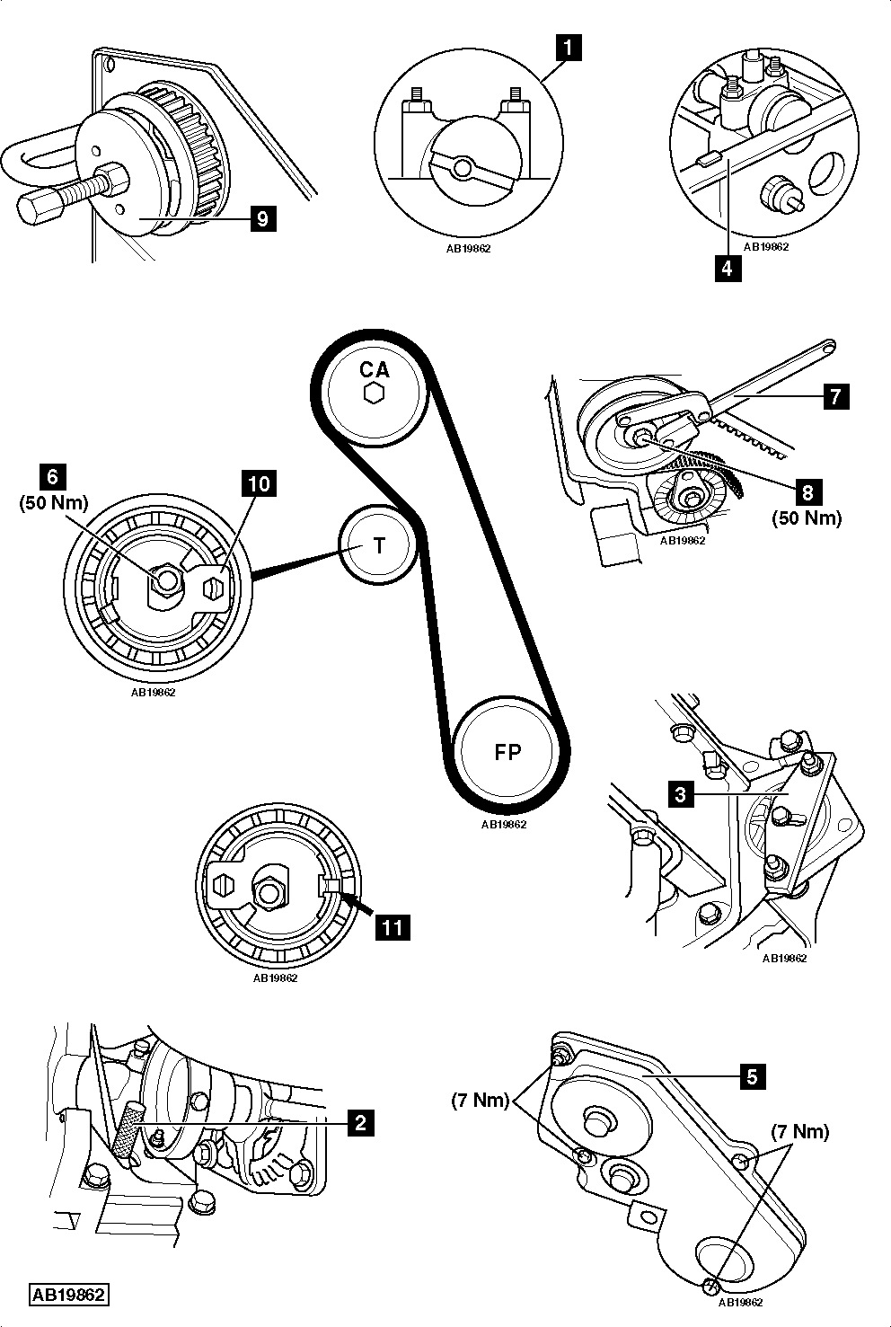 hight resolution of ford 5 8 engine drive belt diagram