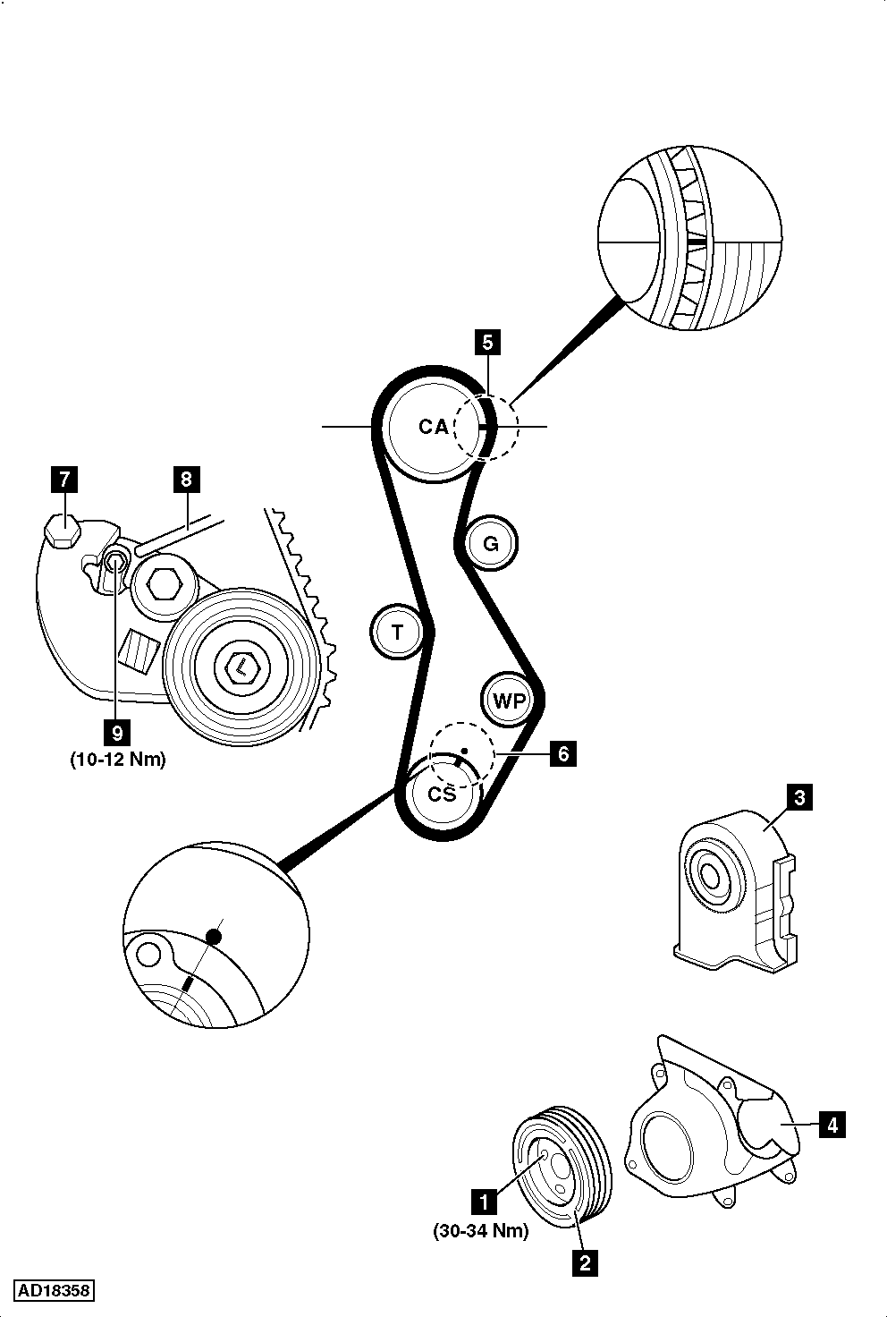 medium resolution of hyundai timing belt wiring diagramhow to replace timing belt on hyundai elantra 2 0 crdi 2001