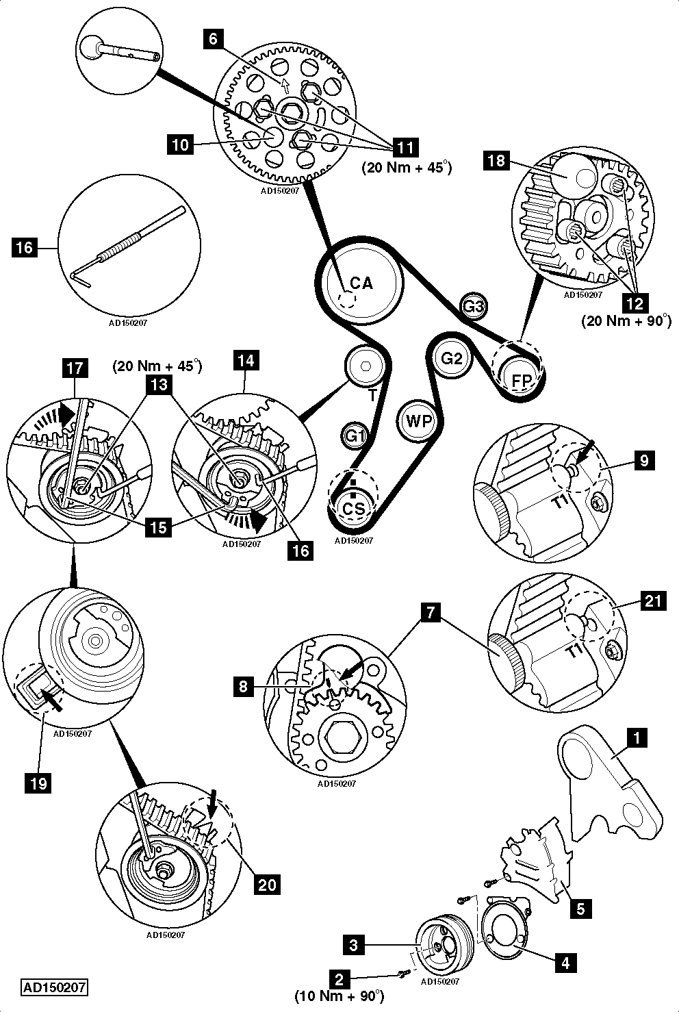 Service manual [How To Replace Timing Belt On A 2010 Mini
