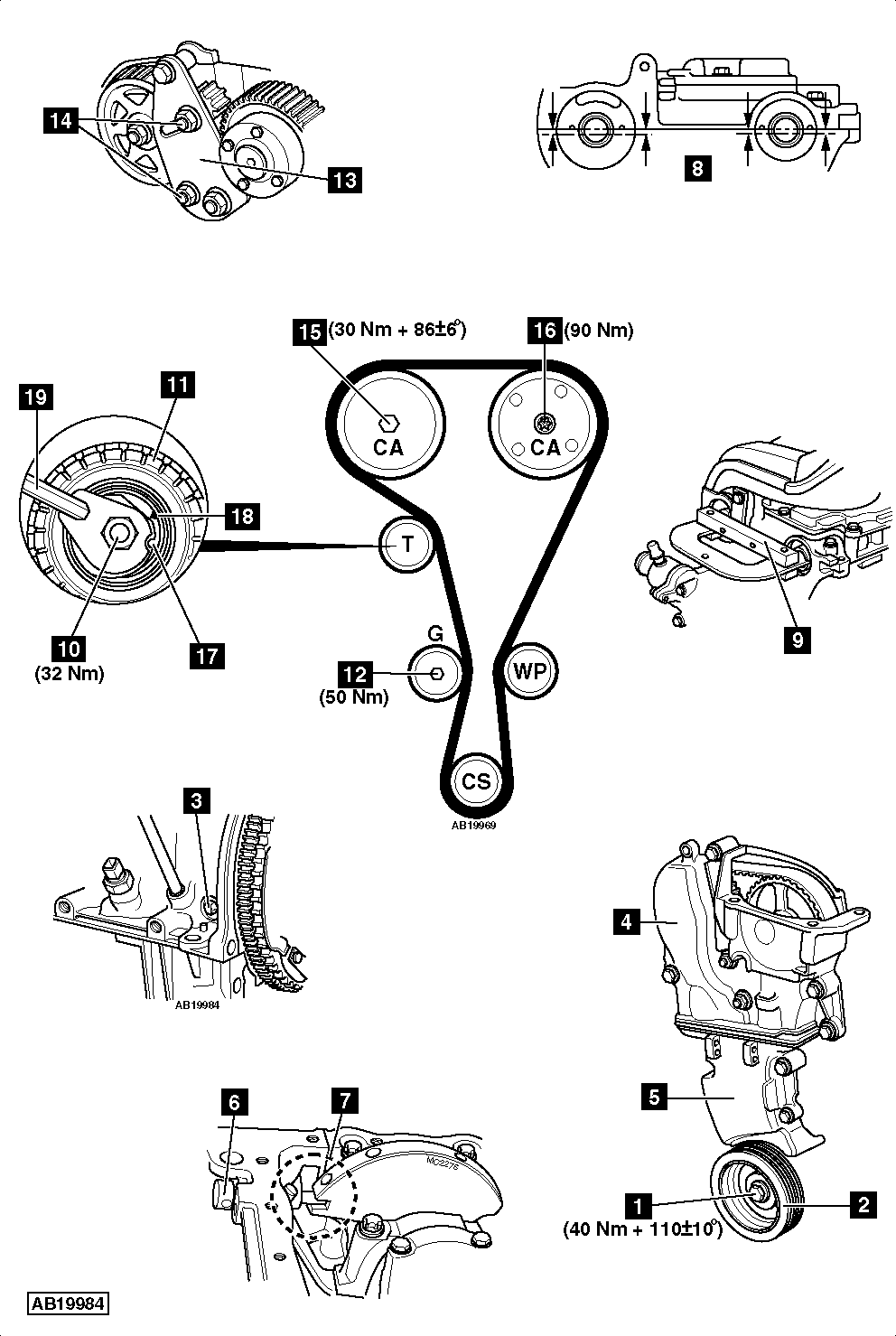 hight resolution of renault timing belt