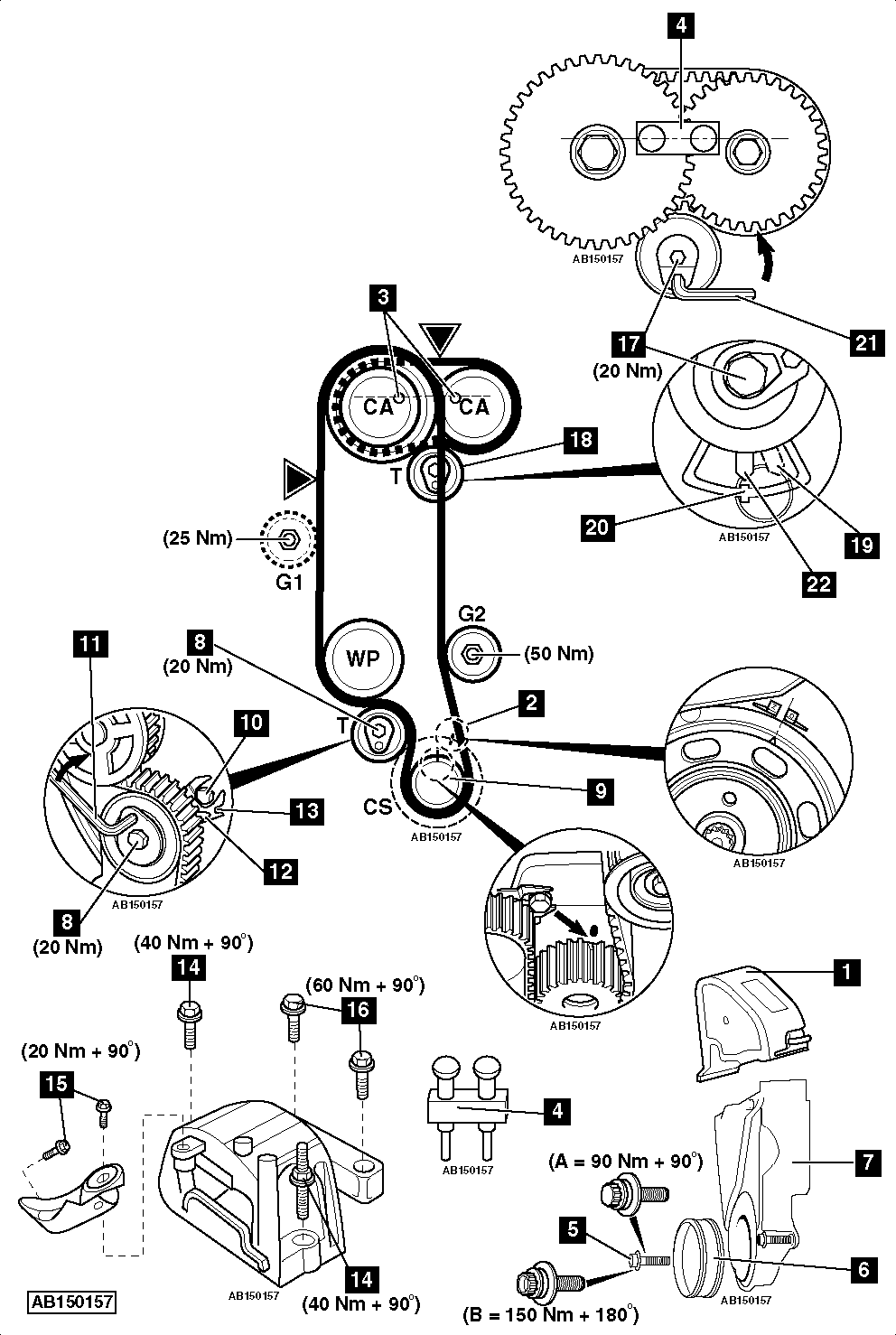 Service manual [2011 Volkswagen Golf How To Set Timing