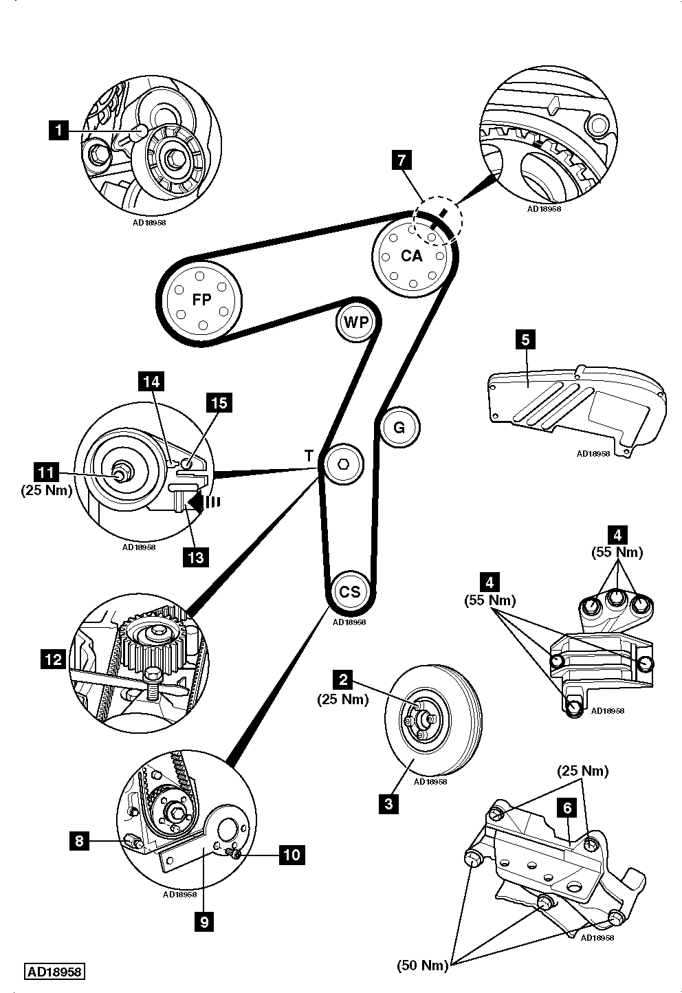 Vauxhall Bo 1 3 Timing Diagram, Vauxhall, Free Engine
