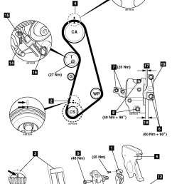 how to replace timing belt on vw golf 4 1 8 t 1 8t timing belt diagram [ 992 x 1476 Pixel ]