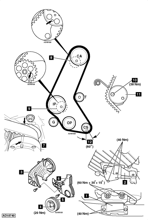 small resolution of how to replace timing belt on vauxhall opel meriva a 1 7 dti opel corsa 1 7 dti wiring diagram