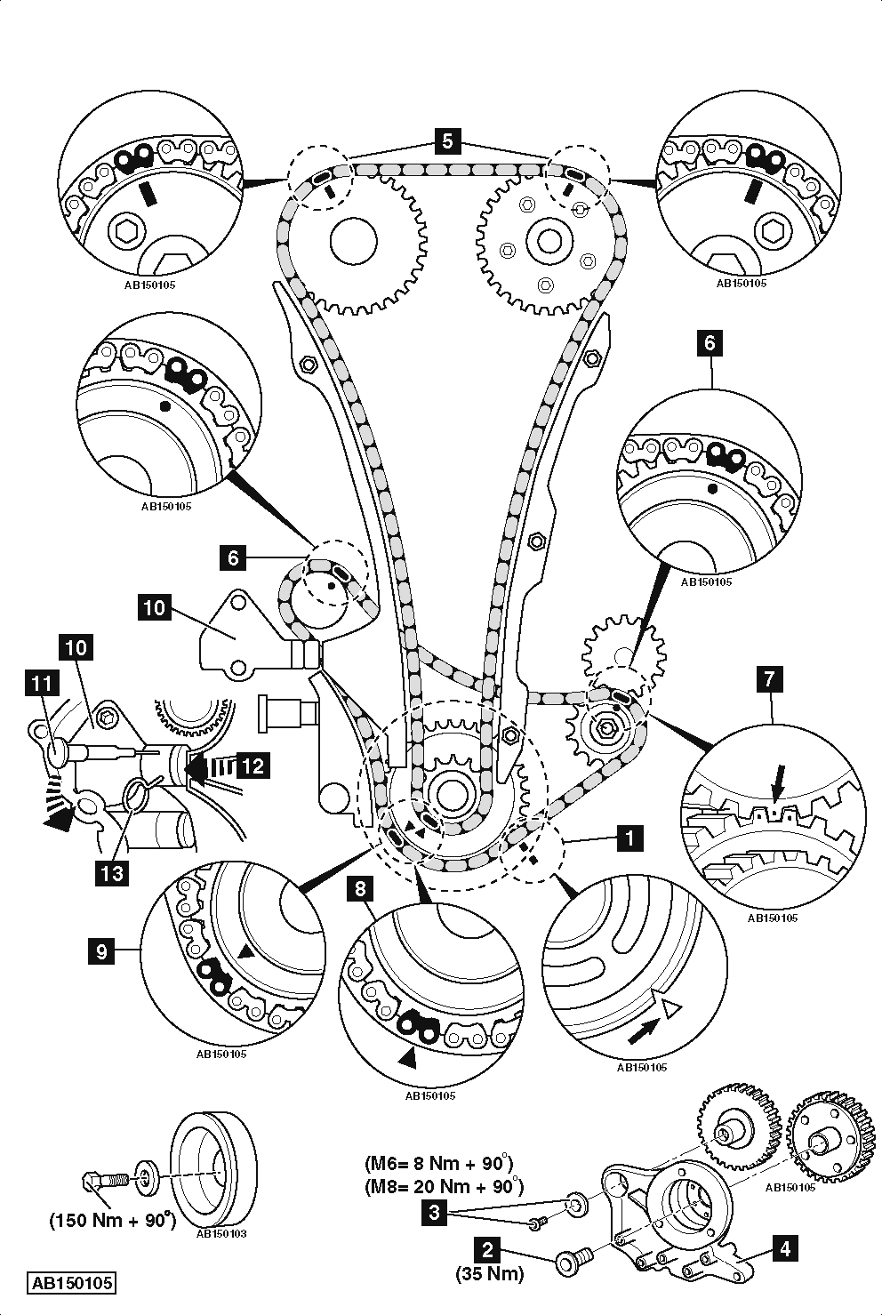 Service manual [How To Set Timing Chain On A 2009 Aston
