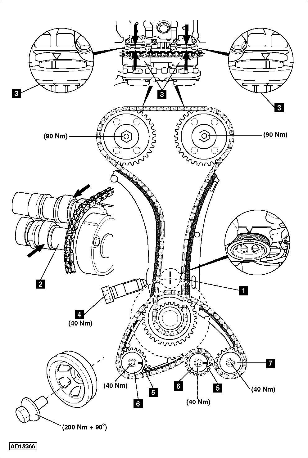 hight resolution of engine timing cover diagram