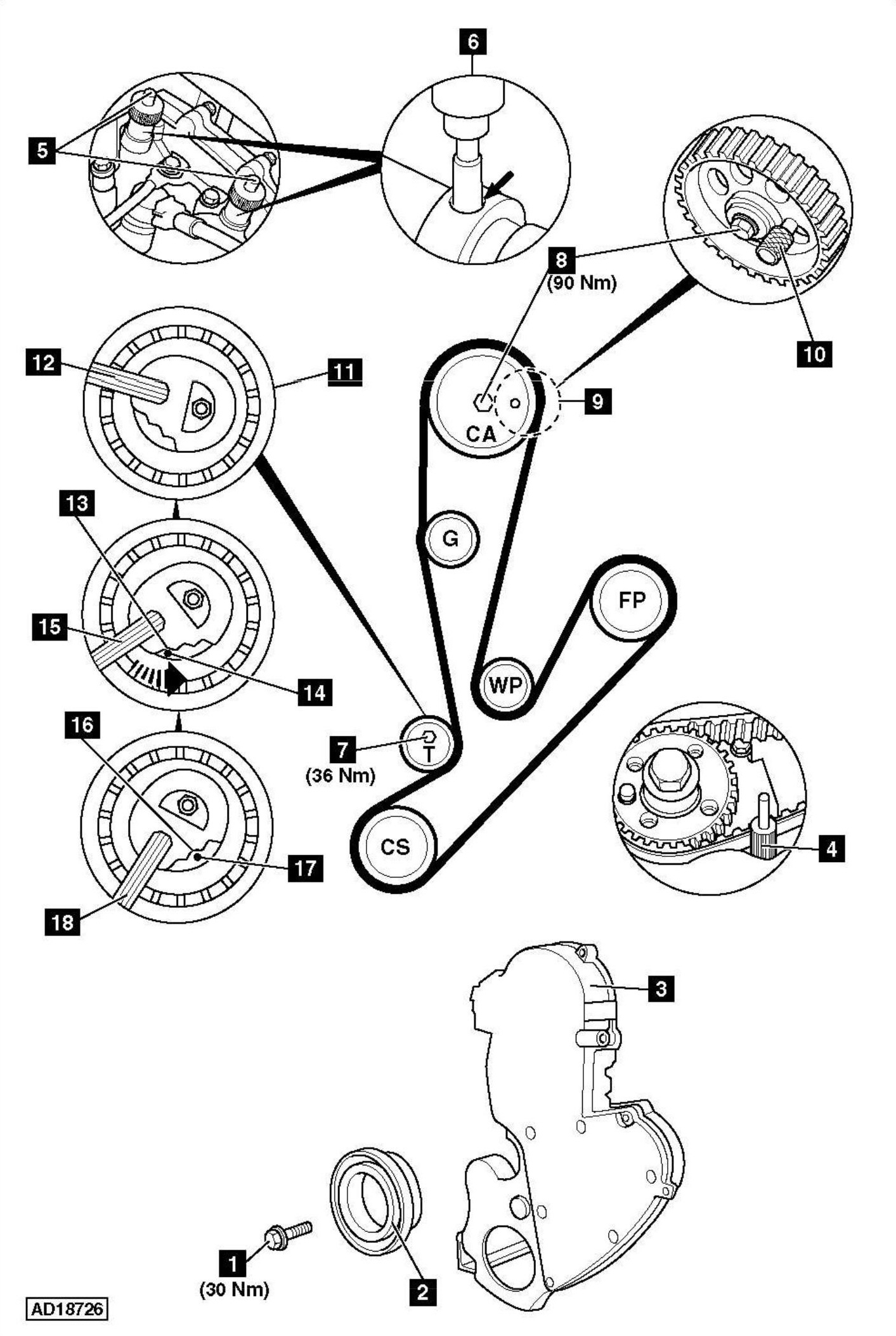 Service manual [How To Replace Timing Belt On A 2008