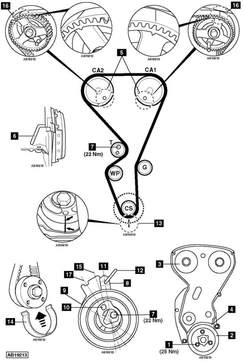 small resolution of how to replace timing belt on peugeot 206 1 6 2003 peugeot need full diagram of timing belt procedure for peugeot car