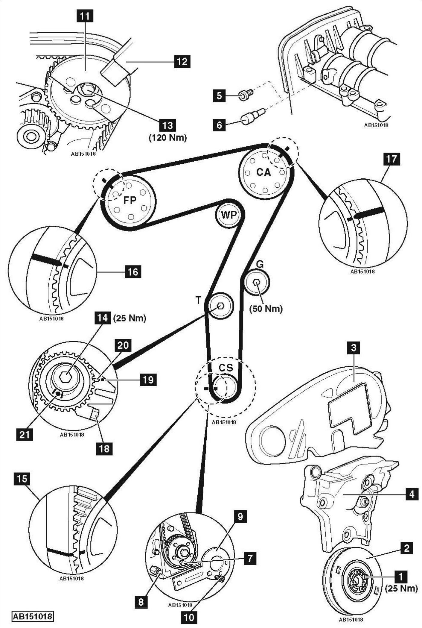 Audi B6 1 8t Belt Diagram 1.9 TDI Belt Diagram ~ Elsavadorla