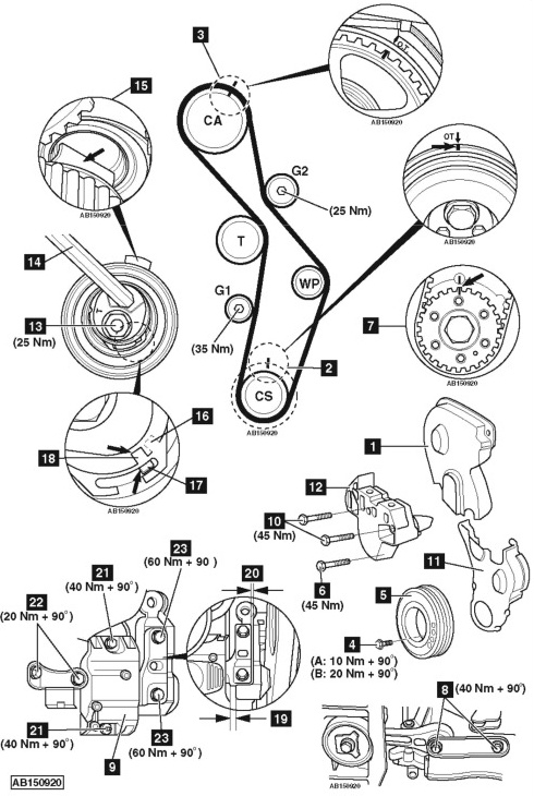 Service manual [1987 Volkswagen Passat Timing Chain