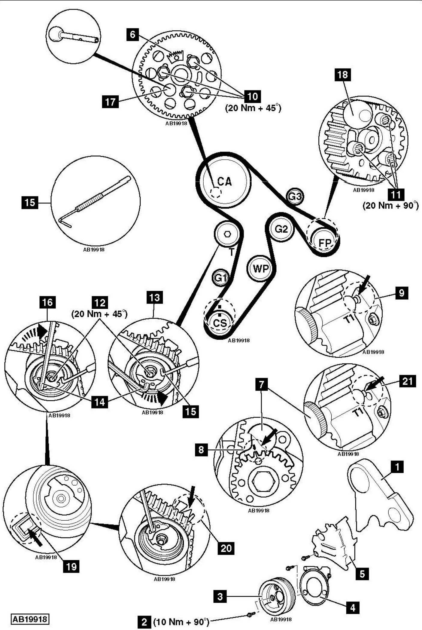 Service manual [How To Replace Timing Belt On A 2010