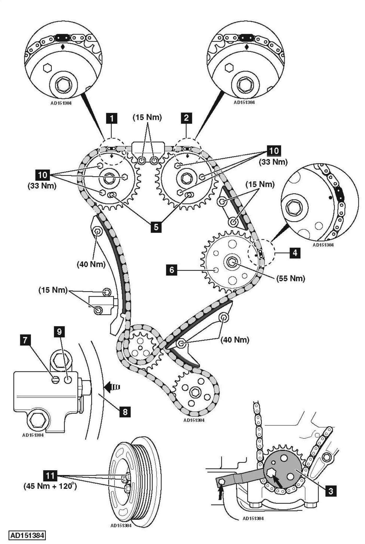 Ford 3 0 Engine Diagram Timing Chains. Ford. Auto Parts