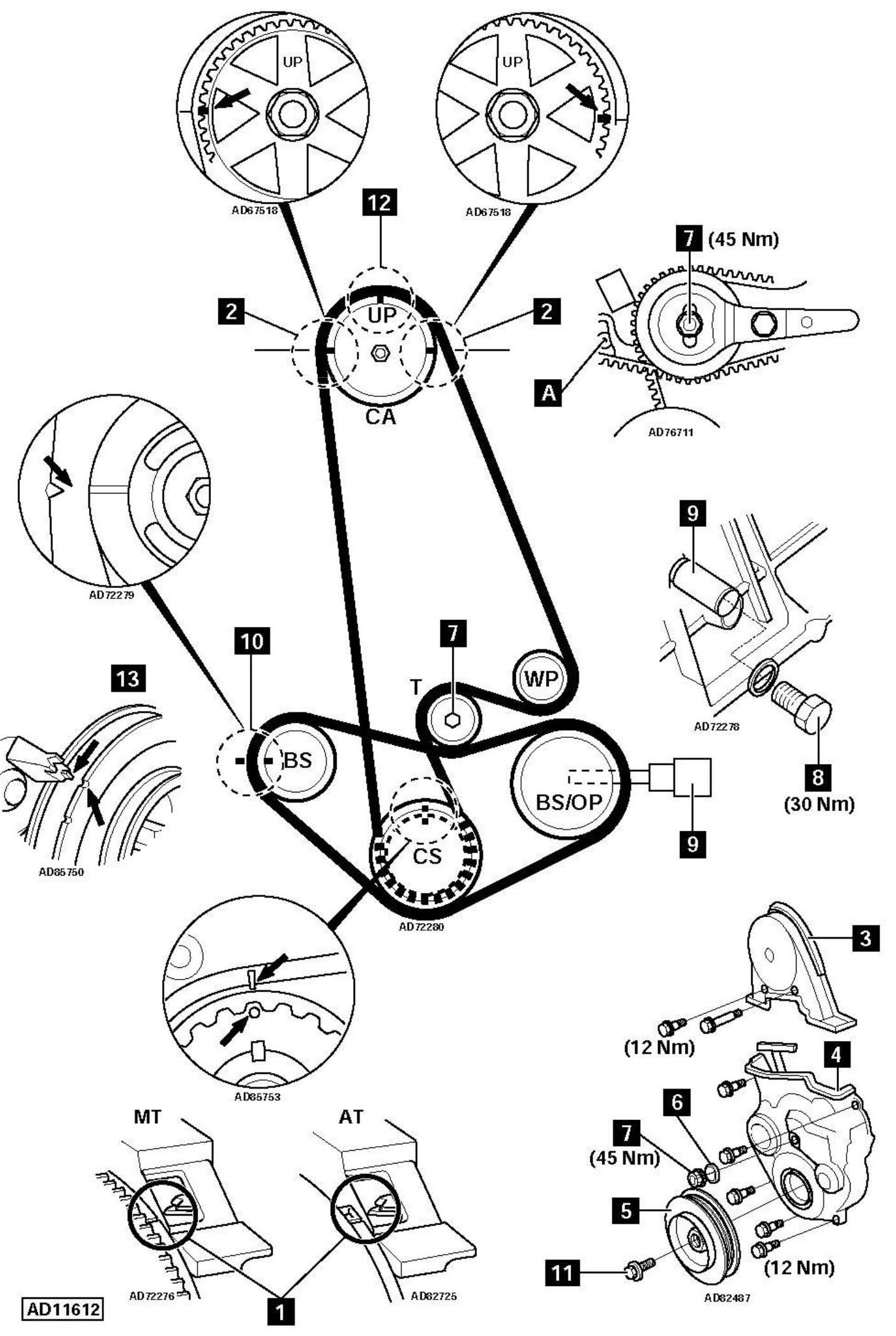 Service manual [How To Replace Timing Belt On A 1993 Alfa