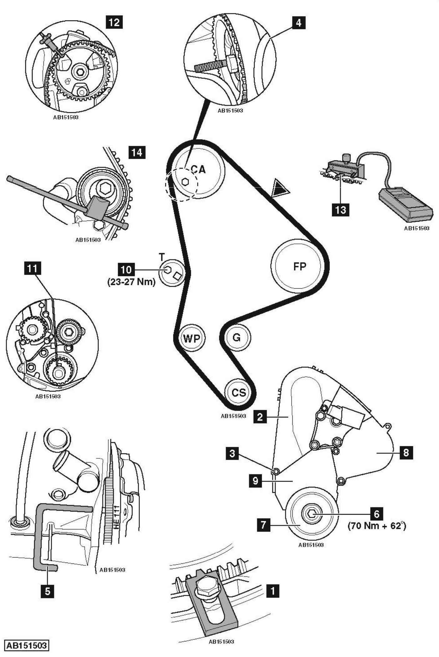 Service manual [How To Replace Timing Belt On A 2003 Acura