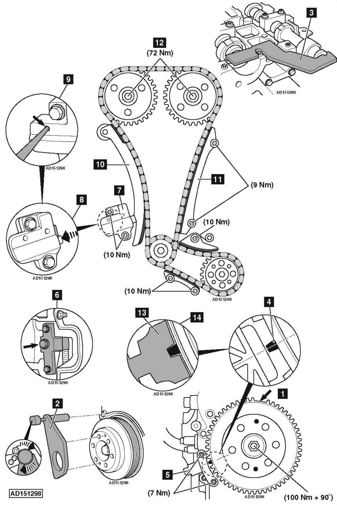 2 Ecotec Timing Chain Diagram