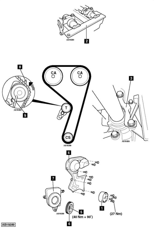 small resolution of timing belt diagram 3 2 volvo wiring diagram expert how to replace timing belt on volvo