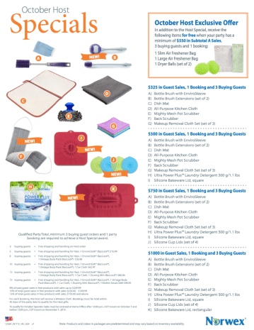 Some exciting extras in the Norwex HOST PLAN this month!! Want to host a Norwex party? Online, catalog or in your home?