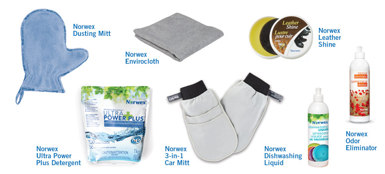 RV clean up with Norwex products 1