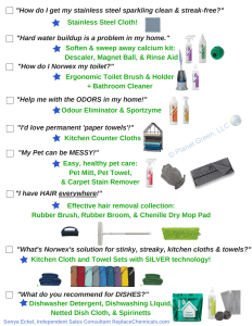 Norwex Shopping List Pg2 Sonya Eckel
