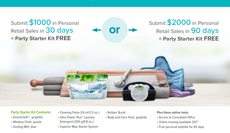 TWO ways to earn your Norwex Consultant Kit FREE!