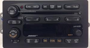 Trailblazer Envoy Bravada Rainier 20022004 CD6 BOSE radio
