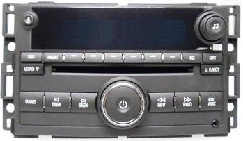 2005 Corvette Radio Wiring Diagram Cobalt G5 2007 2008 Us9 Cd6 Mp3 Xm Rdy Radio 25850125 New
