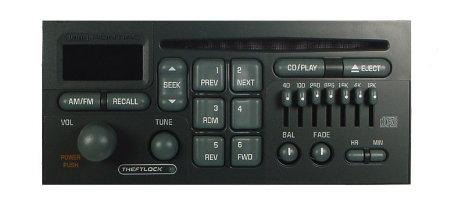 Impala Radio Wiring Diagram Pontiac 1992 2003 Cd Radio W Eq