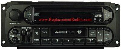 Impala Radio Wiring Diagram Chrysler 1998 2007 Cd Cassette Radio W Rds Raz Oval
