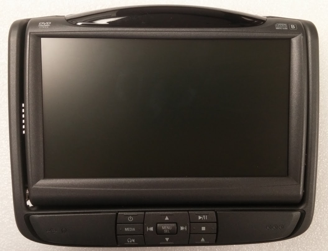 hight resolution of  ford flex 2010 invision lcd headrest screen monitor with dvd click to enlarge