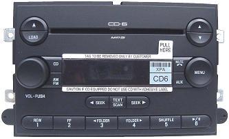 2007 Cadillac Srx Radio Wiring 6e5t 18c815 Ch Cl Ford Fusion Mercury Milan 2006 Cd6 Mp3