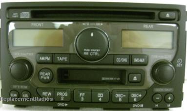 2004 Honda Wiring Diagram Pilot 2003 2005 Cd Cassette Dvd Radio A200 1tv0 New